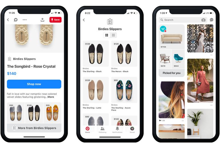 Pinterest develops a feature dedicated to online shopping